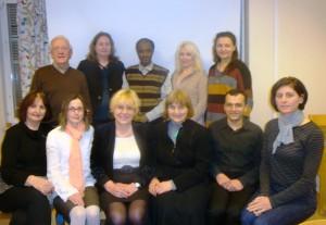 gruppbild vid pedagogiska konferensen